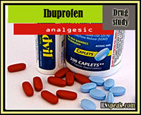 Ibuprofen ( Advil) drug study