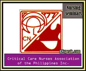 Nurses Association of the Philippines Inc.) Schedule on January 2012