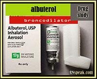 Drug Study: Albuterol Sulfate (Ventolin)