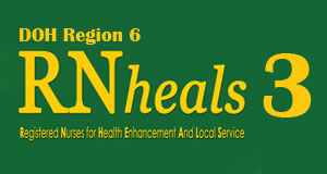 RN Speak RN Heals 3 Region 6  RN Heals 3 in DOH Region 6