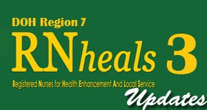 RN heals 3 DOH Region 7 Central Visayas RN Heals 3  DOH Region 7 accept application now