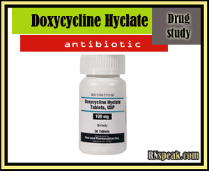 Drug Study:Doxycycline Hyclate