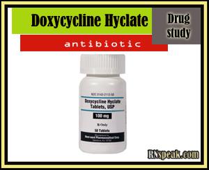 Drug Study:Doxycycline Hyclate