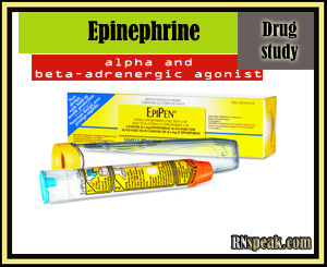 Epinephrine Drug Study