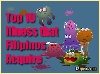 Top 10 Illness That Filipinos Acquire