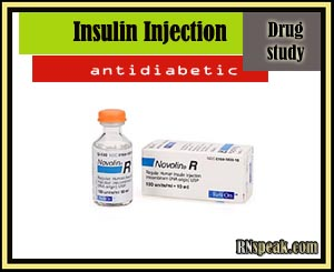 Drug Study:Insulin Injection(Humulin R)