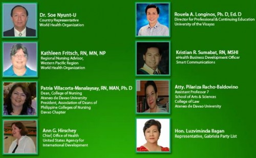 1st mindanao nursing summit speakers