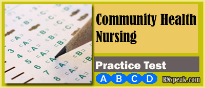 Community Health Nursing Practice Test