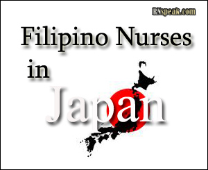 Filipino Nurse in Japan