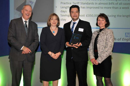 Francis Fernando proud Pinoy Nurse won prestigious awards in UK