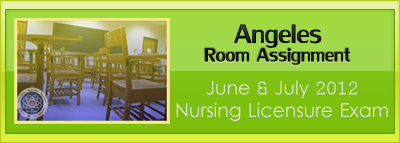 Angeles room assignment June and July 2012 NLE
