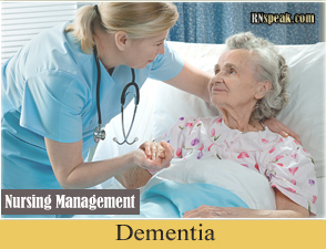 Dementia Patient Dementia Nursing Management
