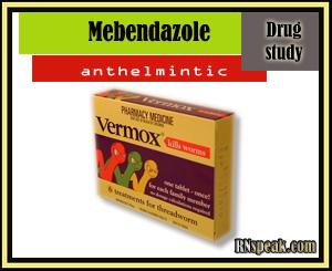 Mebendazole (Vermox) Drug Study