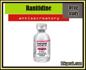 Ranitidine (Zantac) Drug Study