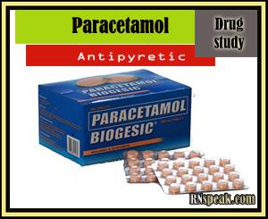 Paracetamol Paracetamol (Biogesic) Drug Study
