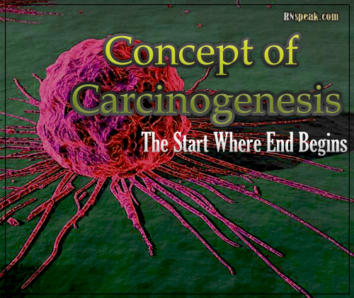 Concept of Carcinogenesis – The Start Where End Begins