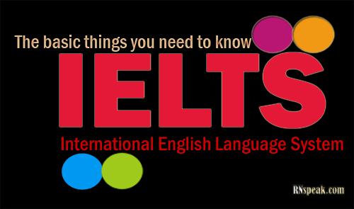 IELTS basic thing to know