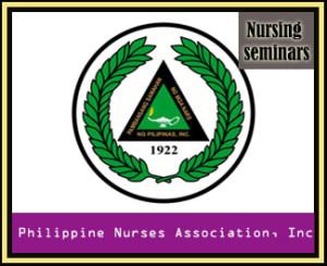 PNA nursing seminars,PNA logo