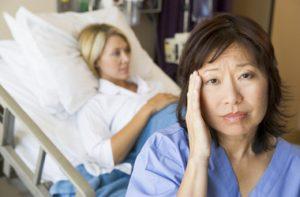 nurse burn out patient risk