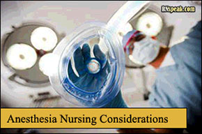 anethesia-nursing-considerations