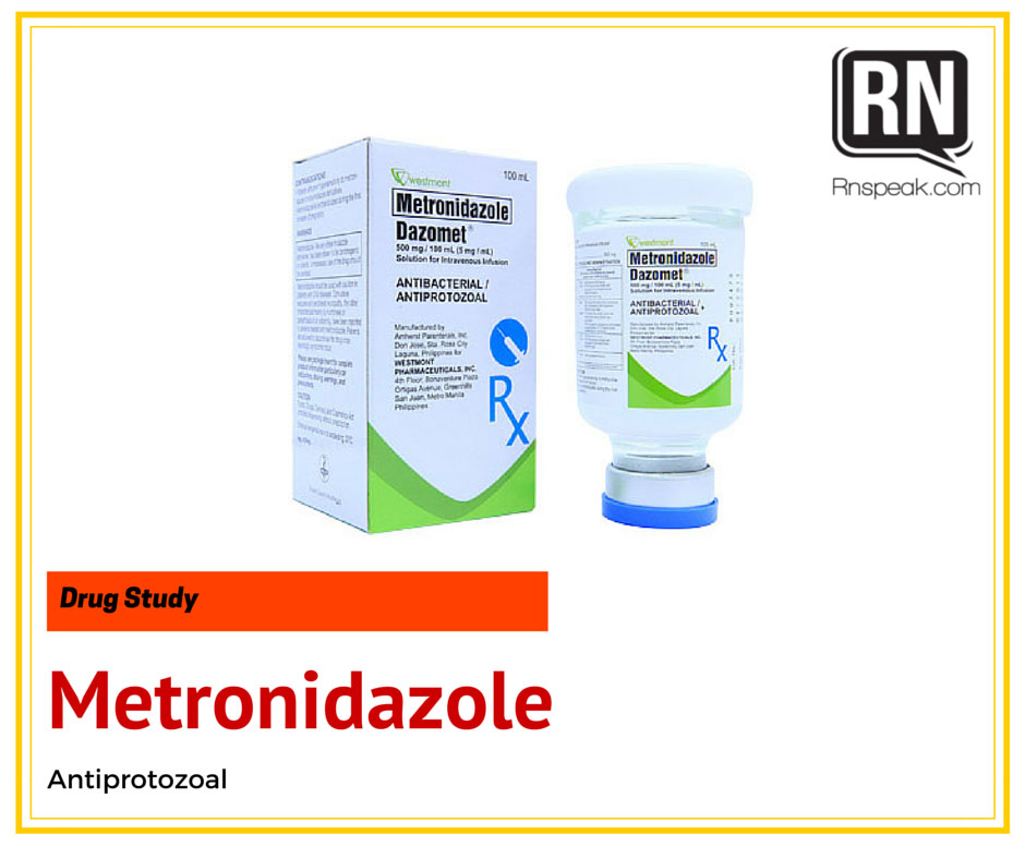metronidazole-drug-study