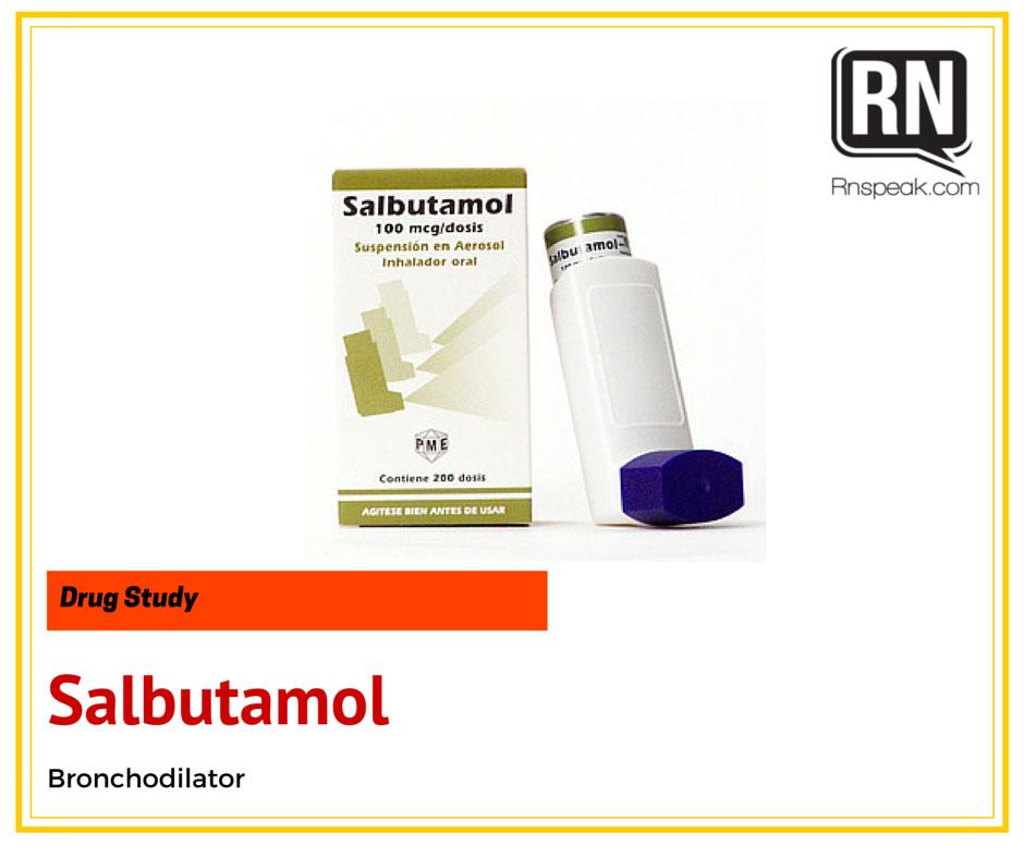 Salbutamol Drug Study