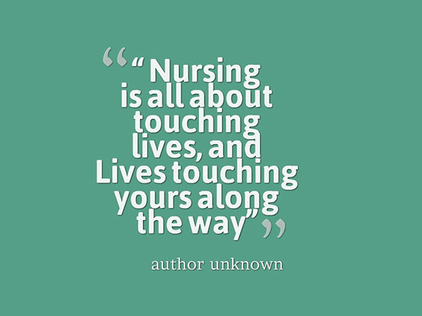 Nursing Quotes Cool 15 Amazing Nursing Quotes Of All Time  Nursing Journal