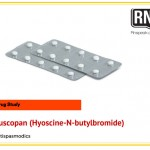 Buscopan (Hyoscine-N-butylbromide) Drug study