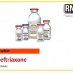 Ceftriaxone Drug Study