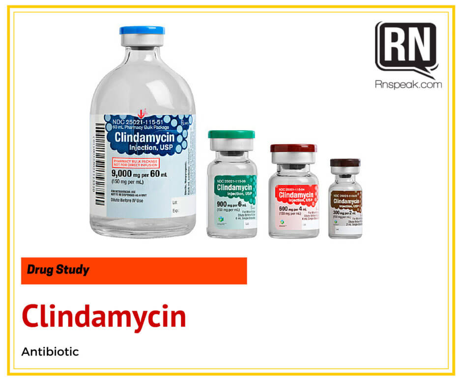 Clindamycin Drug Study