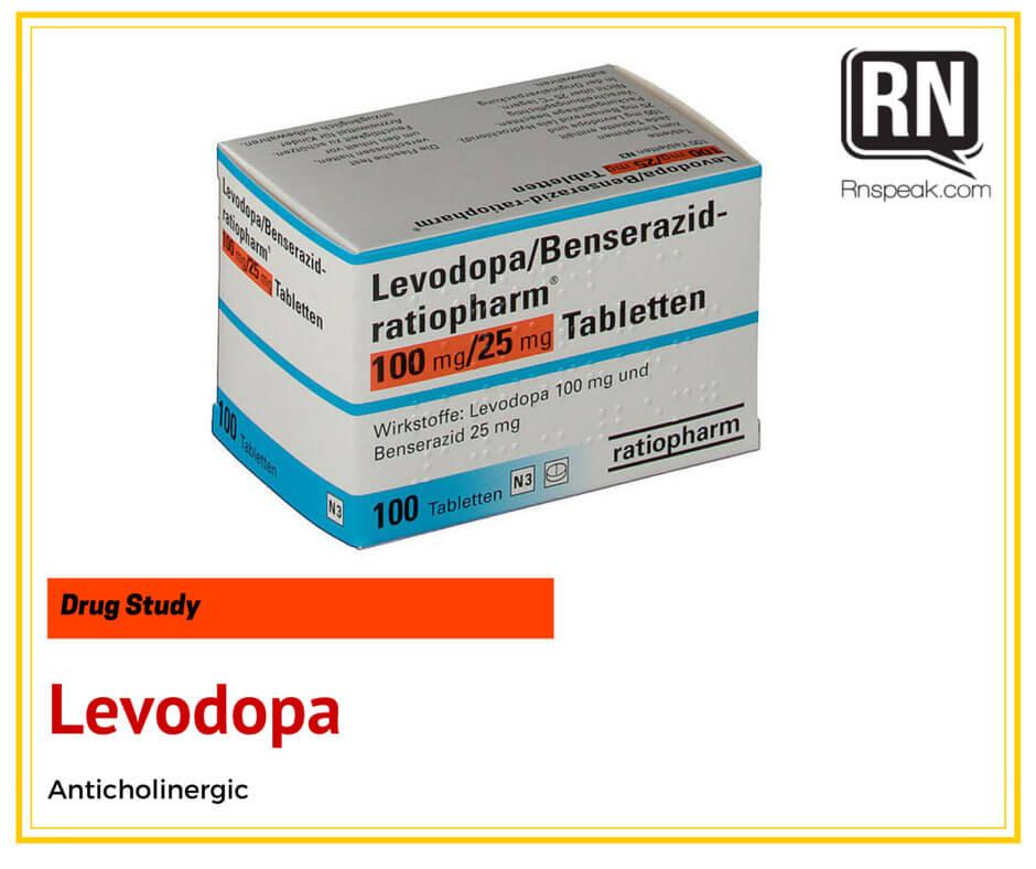 Levodopa-drug