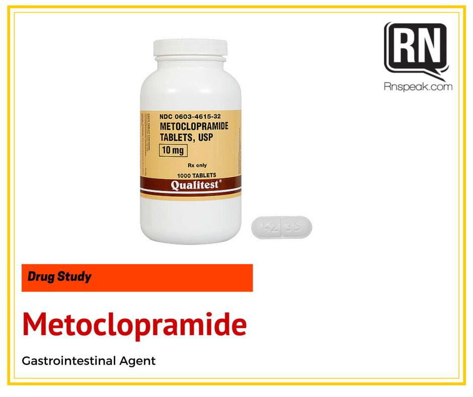 Metoclopramide-drug-study