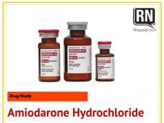 amiodarone drug vials