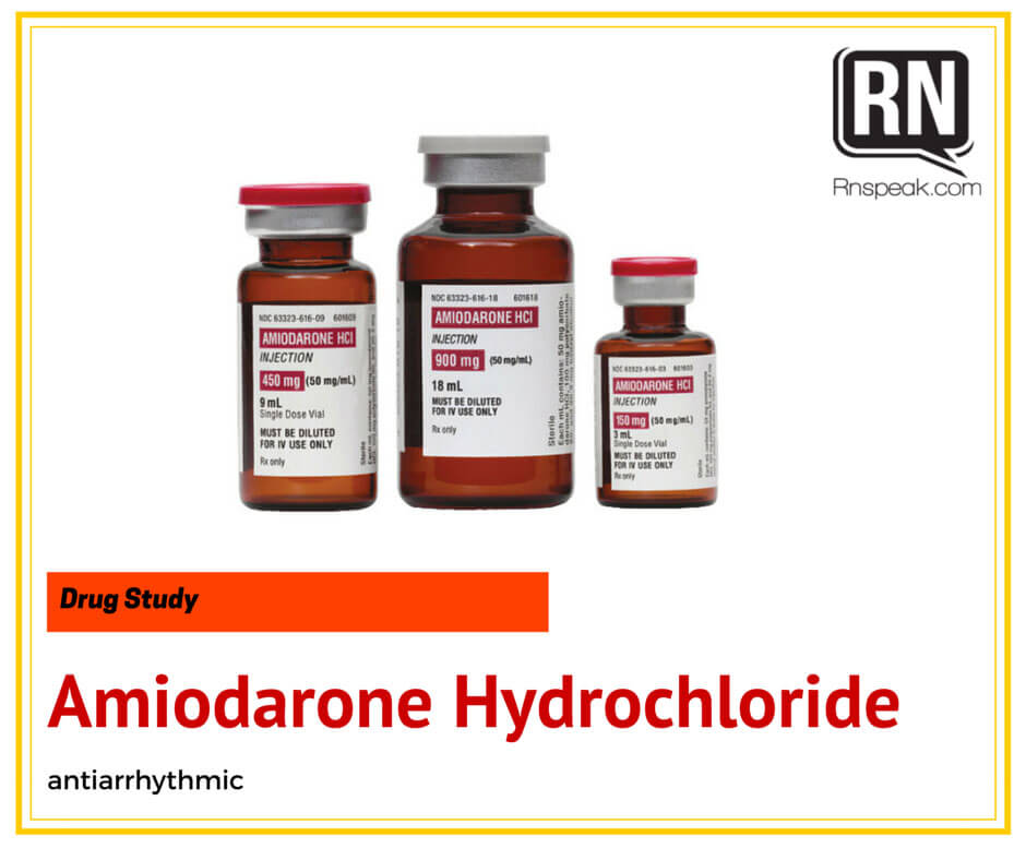 Amiodarone Uses, Dosage & Side Effects - Drugs.com
