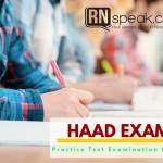 HAAD Practice Test Examination Part 2