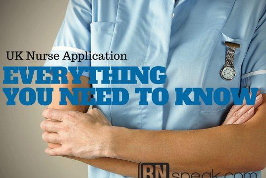 united kingdom nurse application