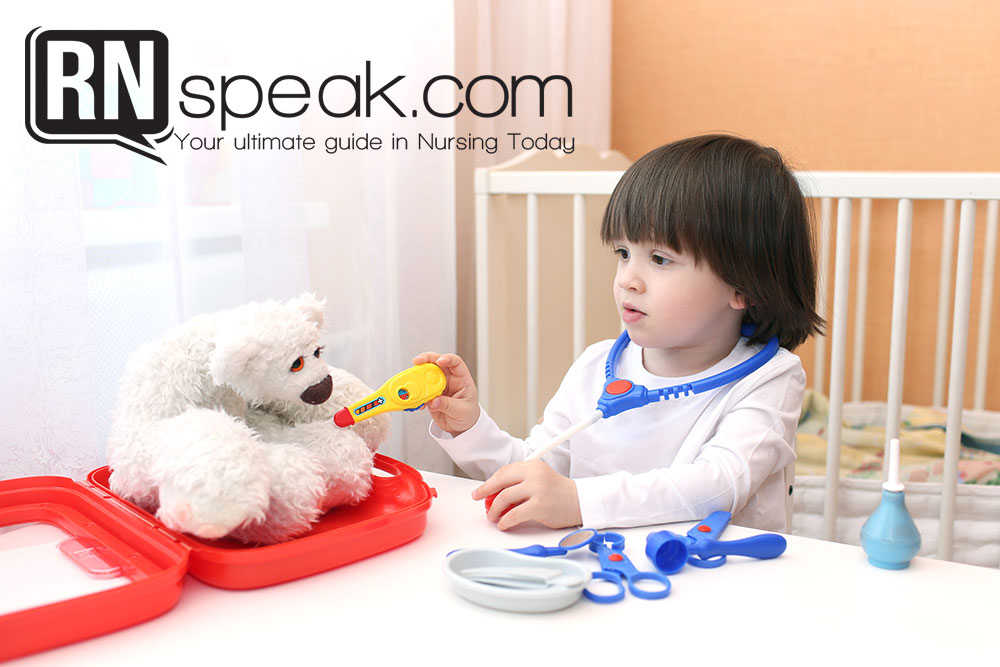 teach kid simple nursing skills