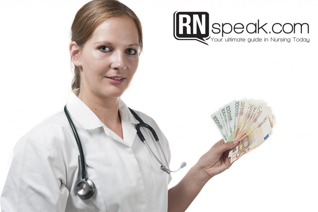 nursing salary 2014 us and uk