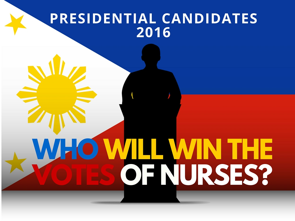 2016 Presidential Candidates – Who will win the votes of Nurses ?