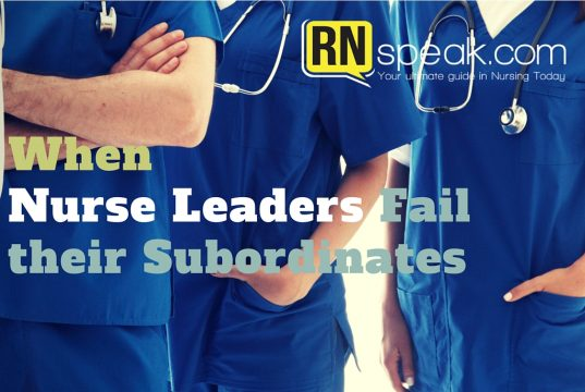 nurse leaders