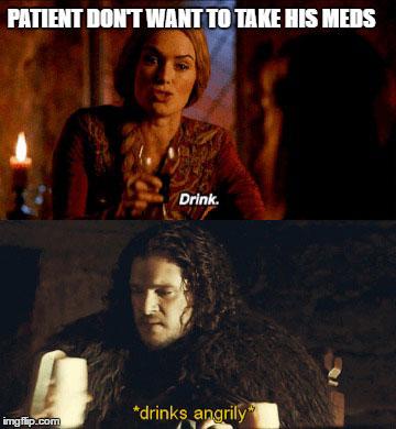 game of throne memes nurse