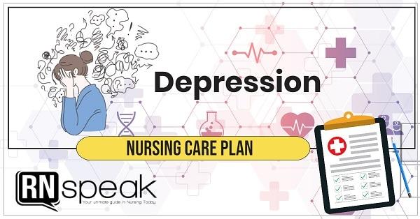 depression nursing care plan