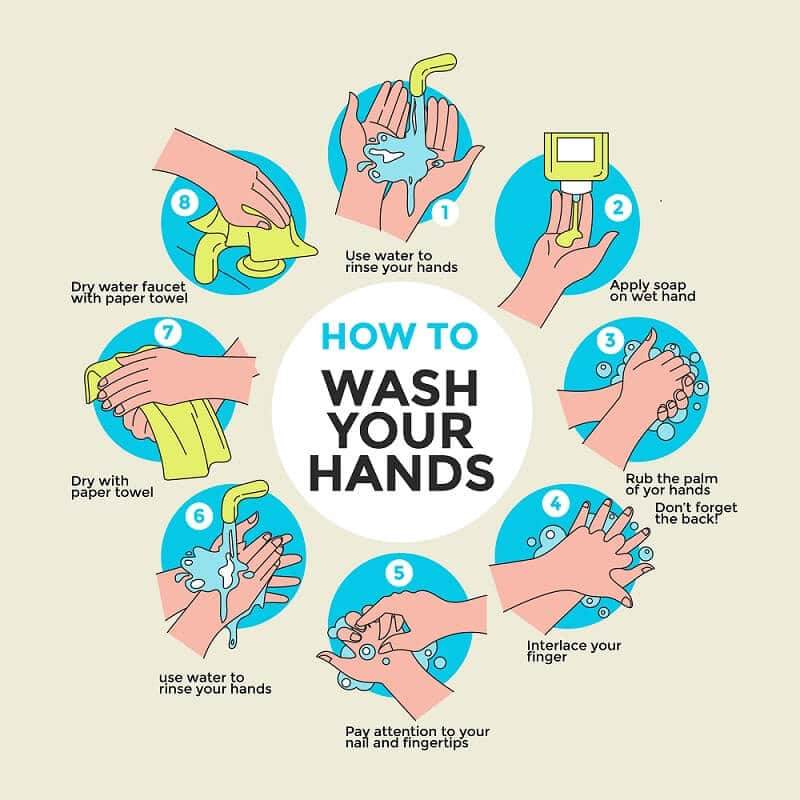 handwashing procedure
