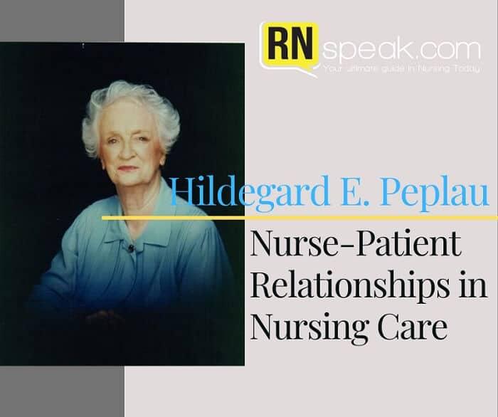 hildegard peplau nursing theory
