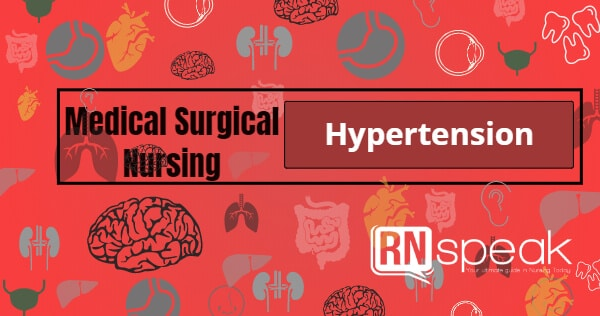 hypertension nursing management