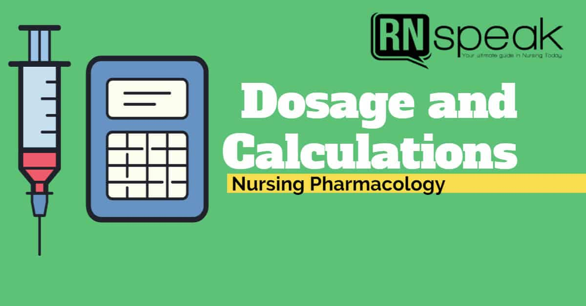 dosage andcalculations