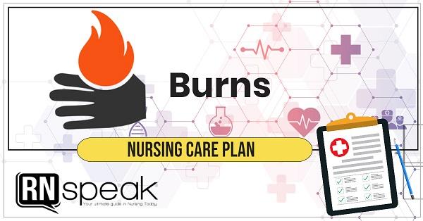 burns nursing care plan