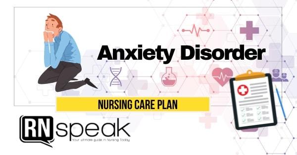 anxiety nursing care plan