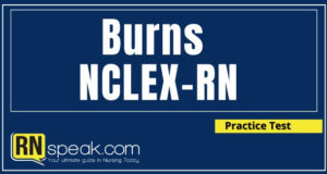 burns nclex questions with rationale