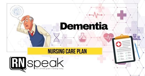 dementia nursing care plan